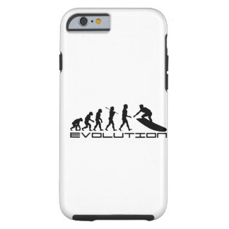 Surfer Surfing Sport Evolution Art Tough iPhone 6 Case