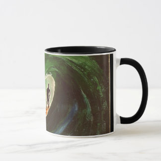 Surfer Surfing Tube Ride Ocean Ripcurl Coffee Mug