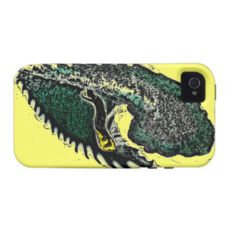 Surfer waves yellow theme artistic iphone case case for the iPhone 4