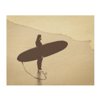 Surfer Wood Wall Decor