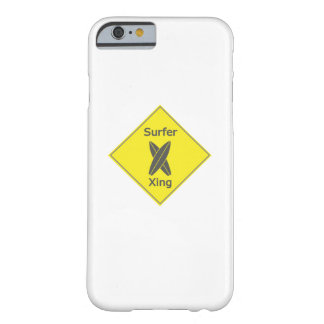 Surfers beach Surf surfing board Gift Barely There iPhone 6 Case