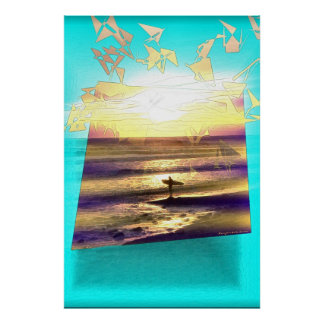 Surfer's Dream Series #1 Poster