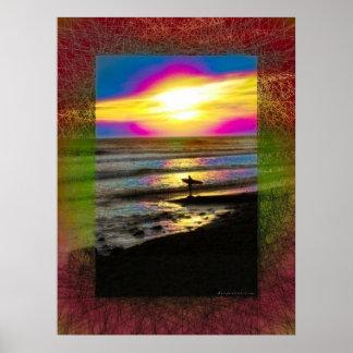 Surfer's Dream Series #2 Poster
