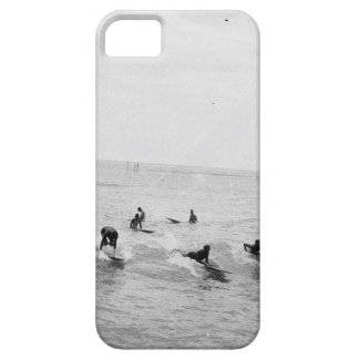 Surfers on Waikiki Beach, Hawaii, 1920s Photo iPhone 5 Cases