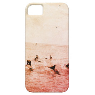 Surfers on Waikiki Beach, Hawaii, 1920s Photo iPhone 5 Covers