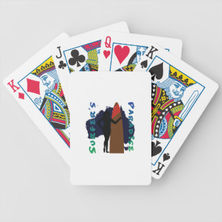 surfer's paradise bicycle playing cards