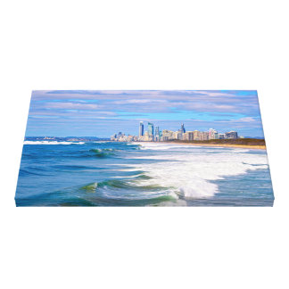 Surfers Paradise, Gold Coast, Australia Canvas Print