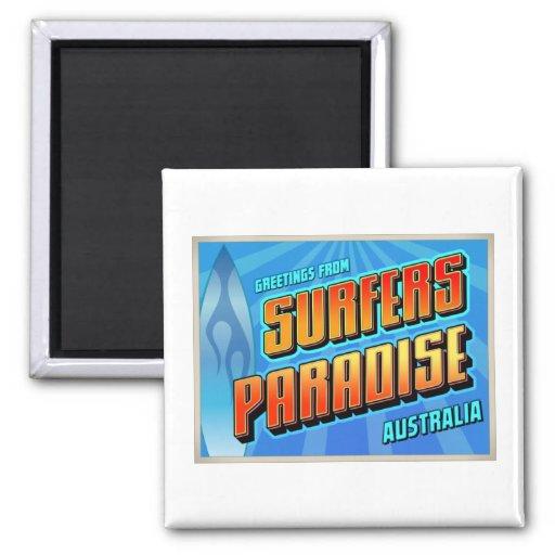 SURFERS PARADISE MAGNET