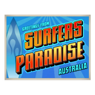 SURFERS PARADISE POST CARDS