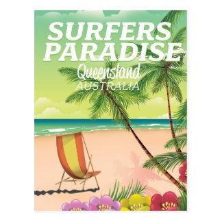Surfers Paradise Queensland Australia Postcard