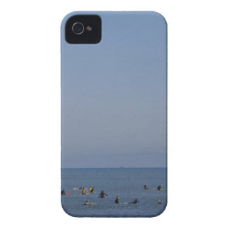 surfers waiting a wave iPhone 4 covers