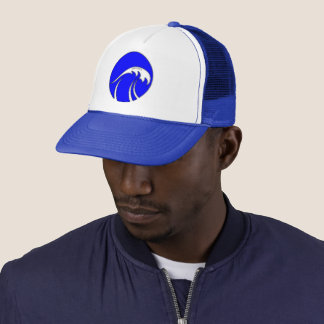 SURFESTEEM Apparel, Cap, wave bubble Trucker Hat