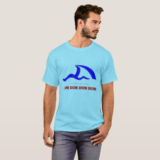 "SURFESTEEM Co. Brand - "" SHARK FIN, DUN DUN"" DESIG T-Shirt"