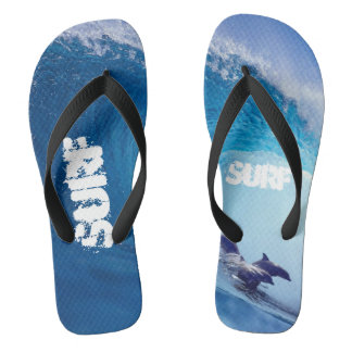 Surfin' Dolphins Thongs