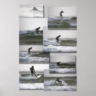 Surfin' fine art print