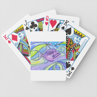 Surfin Fish Bicycle Playing Cards