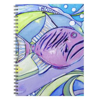 Surfin Fish Notebooks