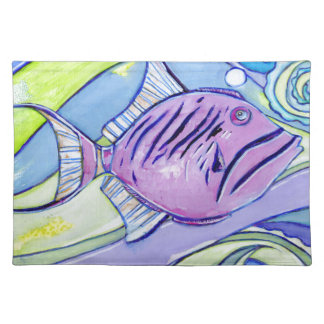 Surfin Fish Placemat