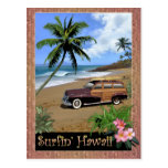 Surfin' Hawaii Postcard