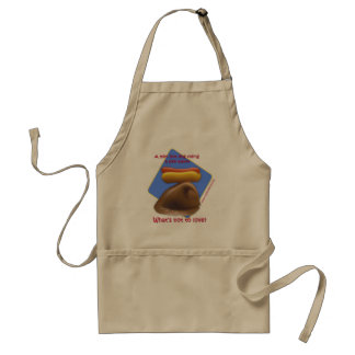 Surfin' Hot Dog Apron