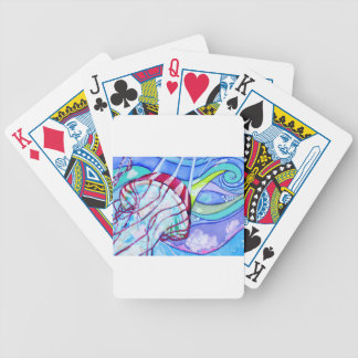 Surfin Jelly Bicycle Playing Cards