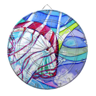 Surfin Jelly Dartboard