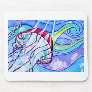 Surfin Jelly Mouse Pad