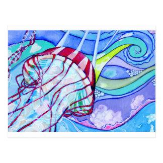 Surfin Jelly Postcard
