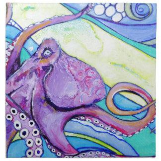 Surfin Octopus Napkin