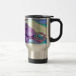 Surfin Octopus Travel Mug