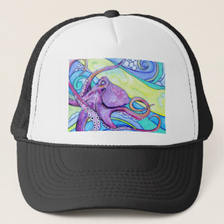 Surfin Octopus Trucker Hat