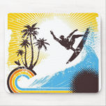 """""""Surfin'"""" the Net Mouse Pad"""