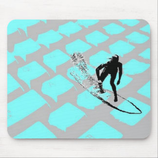 Surfin The Net Mousepad