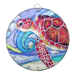 Surfin' Turtle Dartboard
