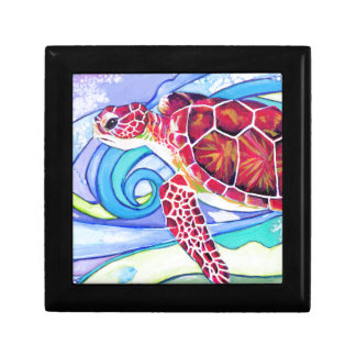 Surfin' Turtle Gift Box