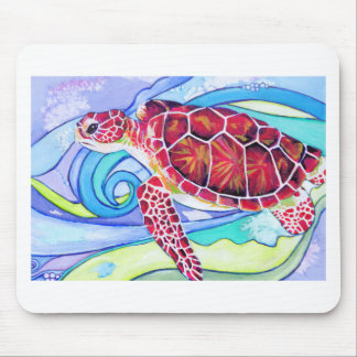 Surfin' Turtle Mouse Pad