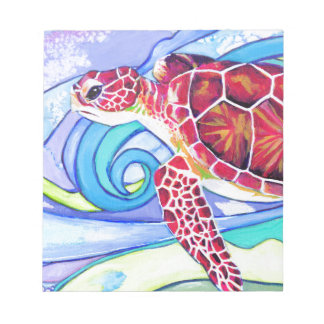 Surfin' Turtle Notepad