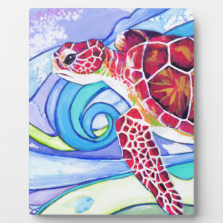 Surfin' Turtle Plaque