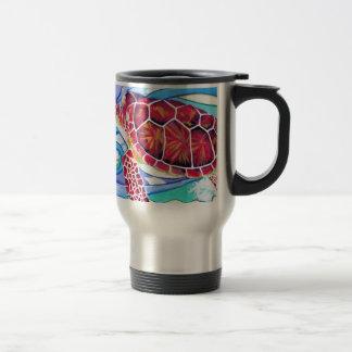 Surfin' Turtle Travel Mug