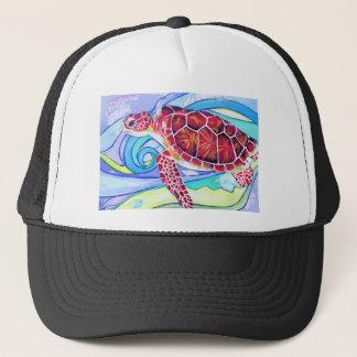 Surfin' Turtle Trucker Hat