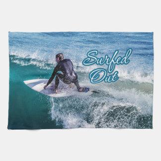 Surfing 12 Kitchen Towels