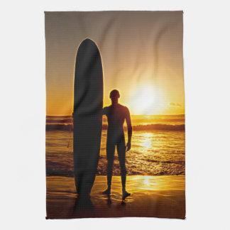 Surfing 8 Kitchen Towels