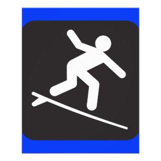 surfing-99304  surfing surf sports water black SYM 11.5 Cm X 14 Cm Flyer