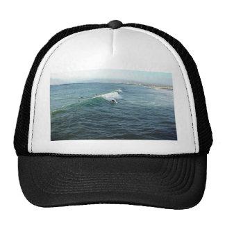 Surfing At Ocean Beach Trucker Hats