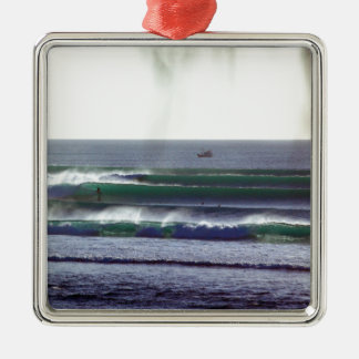 Surfing Bali paradise waves Ornaments