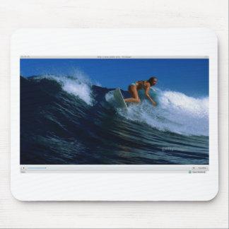 Surfing Birds Mousepads