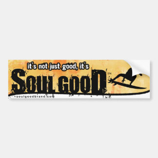Surfing Bumper Sticker: Soul Good Bumper Sticker