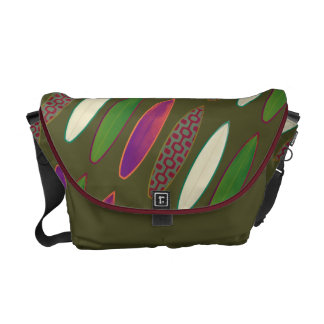 surfing - color surfboards courier bag