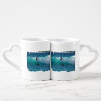 Surfing Couple Mugs