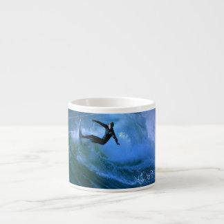 Surfing Curl  Specialty Mug Espresso Mug
